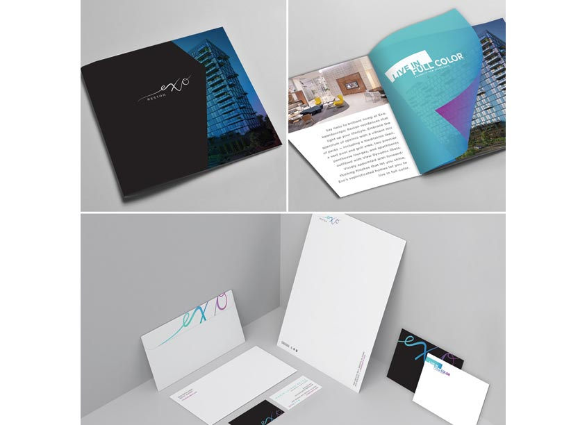 Exo Reston Brochure & Collateral by Streetsense