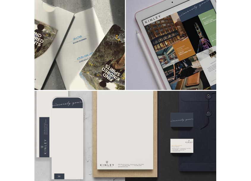 Streetsense Kinley Hotel Brochure & Collateral