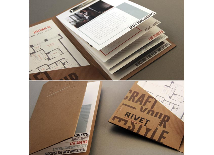 Rivet Brochure & Collateral by Streetsense
