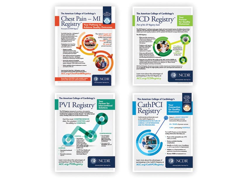 NCDR Registries Rebrand by American College of Cardiology