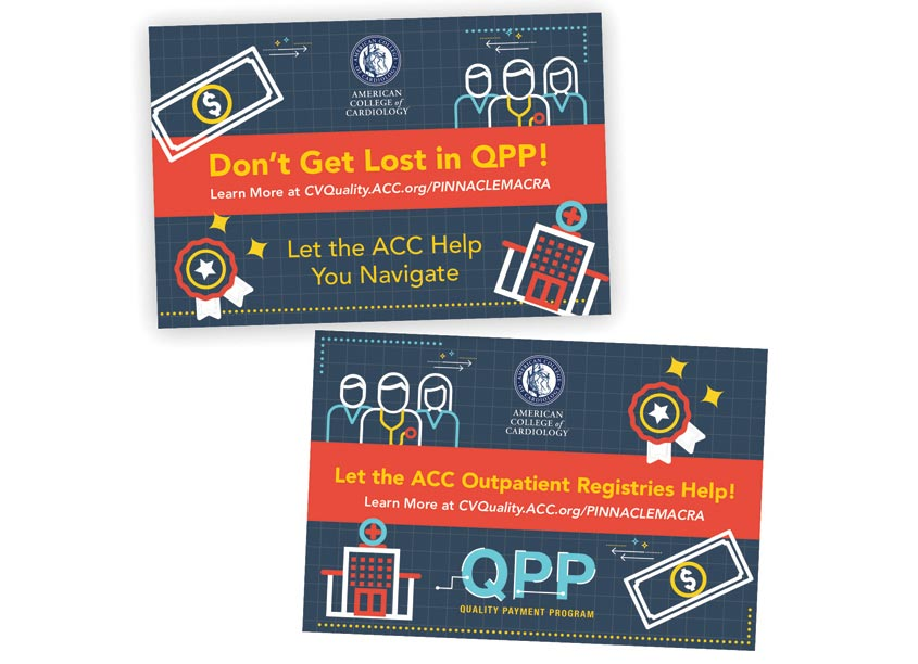 QPP Lenticular Postcard by American College of Cardiology