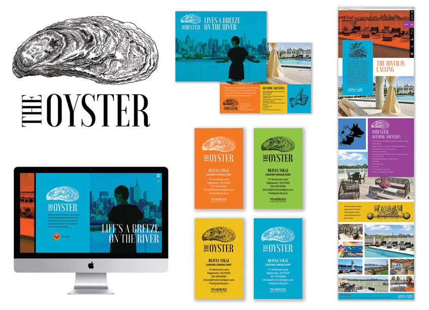 The Oyster Branding by Mermaid, Inc.