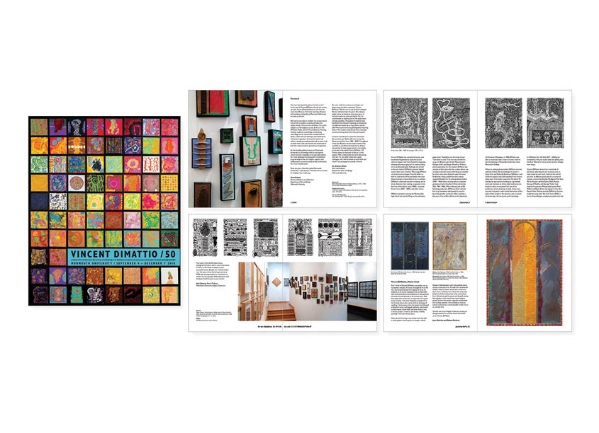 Monmouth University Department of Art and Design Exhibit Catalog for Vincent DiMattio / 50
