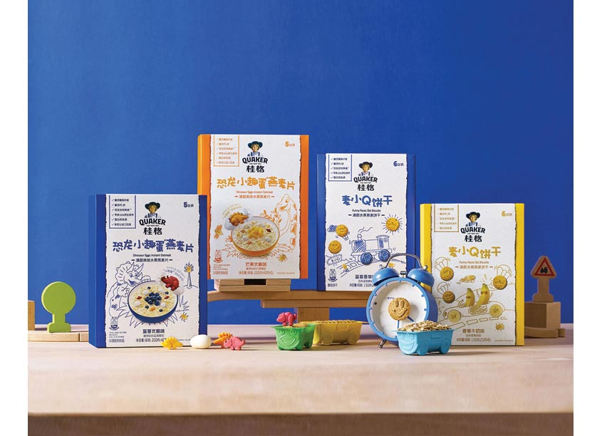 PepsiCo Design & Innovation Quaker Kids China Packaging