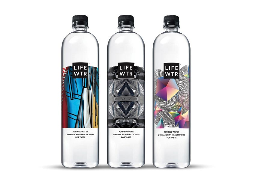 PepsiCo Design & Innovation LIFEWTR Series 6: Diversity in Design Packaging
