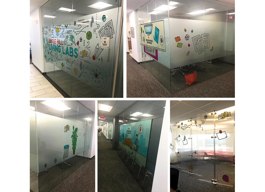 Living Labs Environmental Graphics by c|change