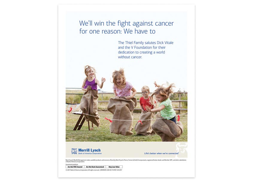 Bank of America, Enterprise Creative Solutions The V Foundation Cancer Ad