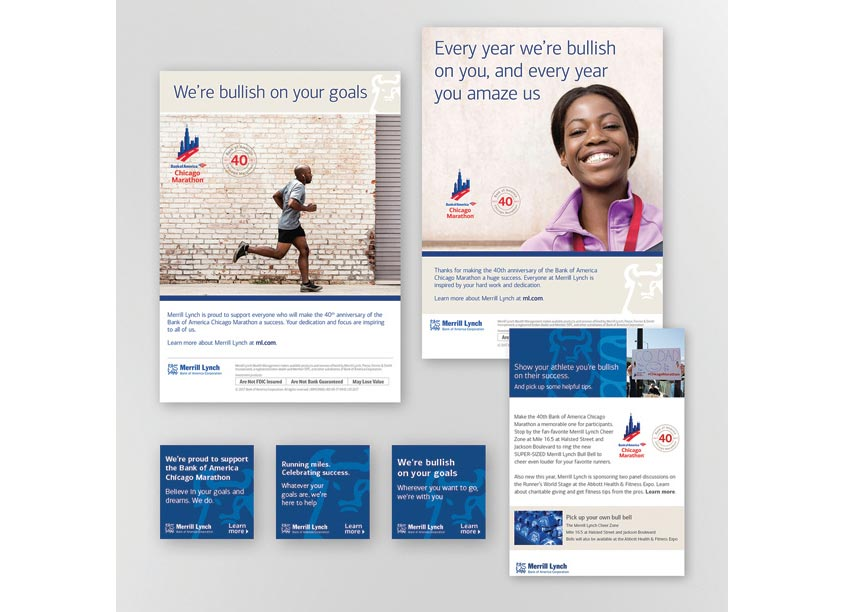 Bank of America, Enterprise Creative Solutions Chicago Marathon Campaign