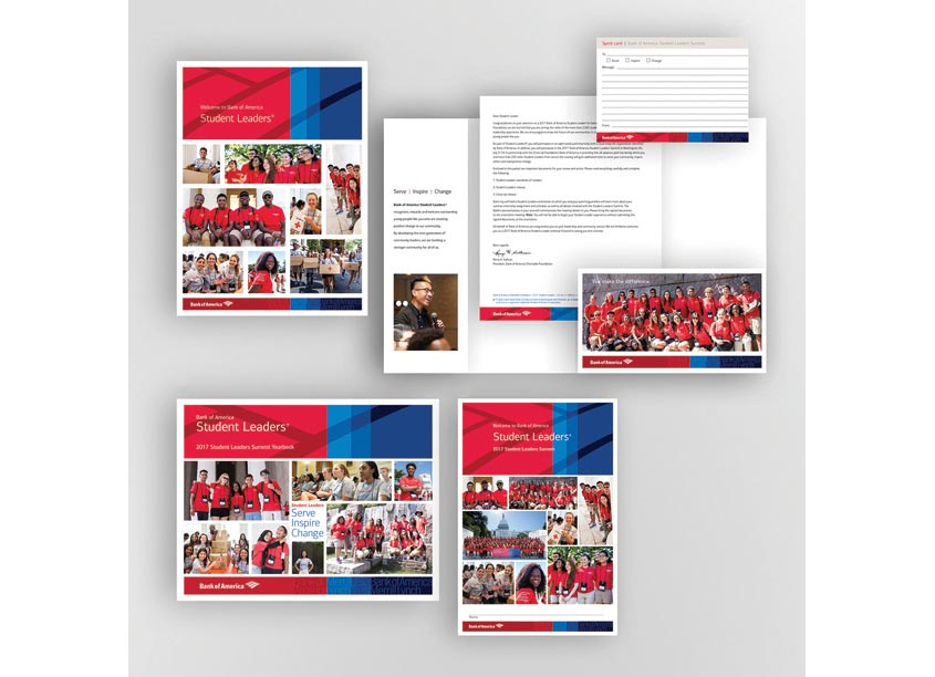 Bank of America, Enterprise Creative Solutions Student Leader Conference Materials