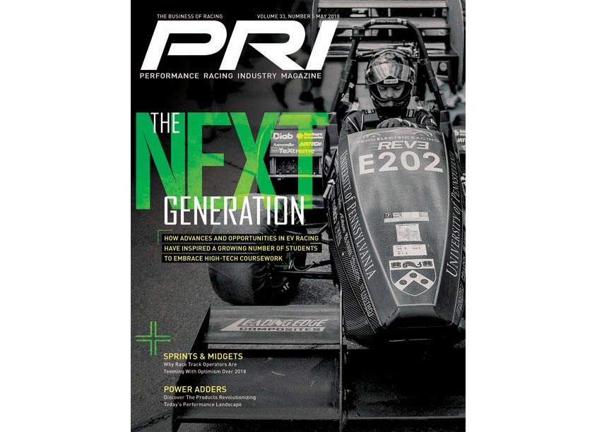 Performance Racing Industry The Next Generation Cover Design