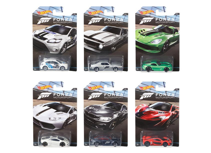 Mattel, Inc. Hot Wheels® Forza Assortment