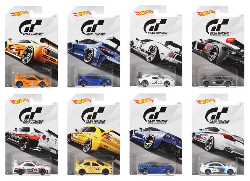 Mattel, Inc. Hot Wheels® GT Assortment