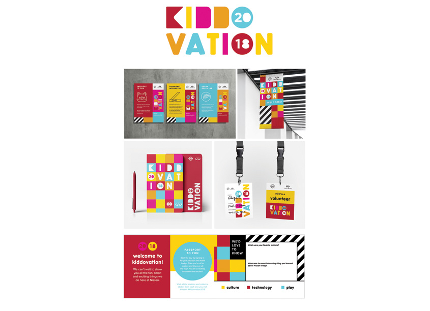 Kiddovation Logo and Visual Expression by Phase 3 Marketing & Communications