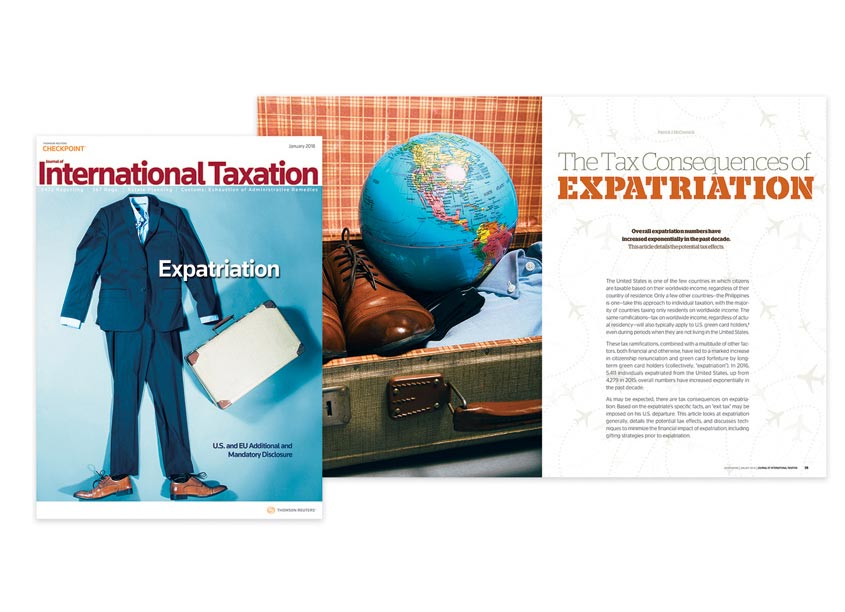 Expatriation Senior by Thomson Reuters