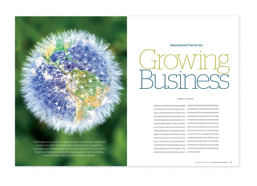 The Growing Business - September 18 Edition by Thomson Reuters