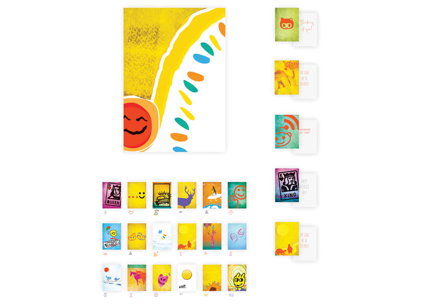 Manughian Design Design For Hope Initiative - Child Patient to Adult Greeting Card Set