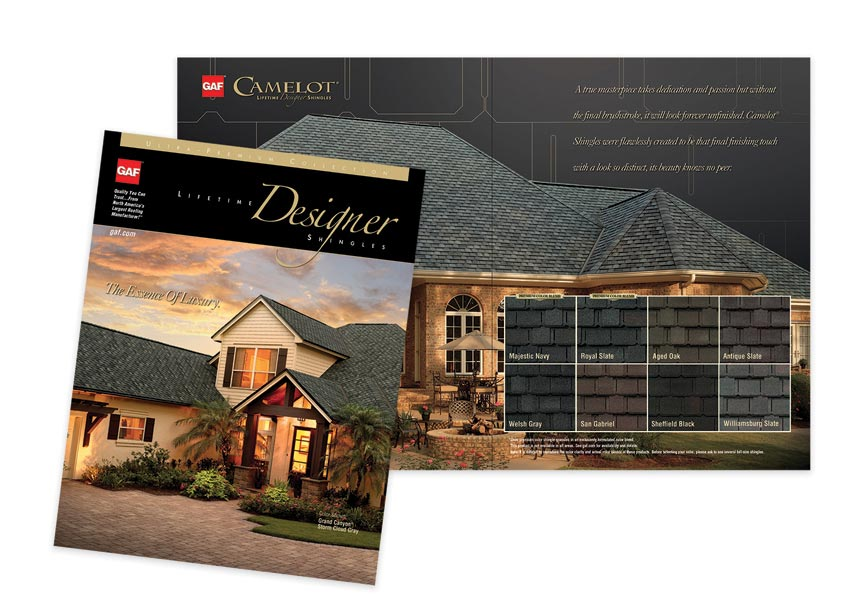 GAF/Creative Design Services Ultra Premium Brochure
