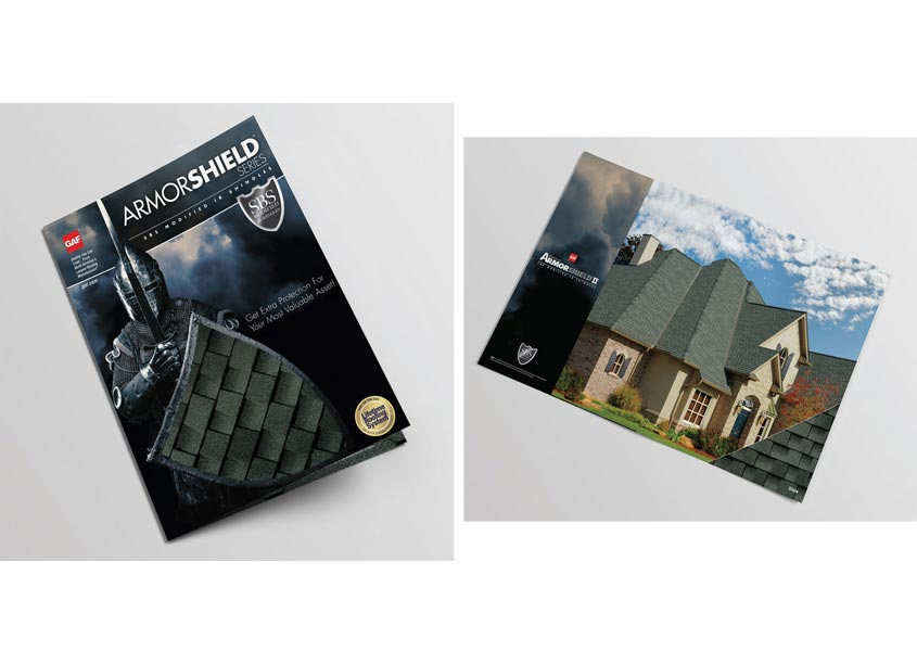 GAF/Creative Design Services Armorshield Brochure