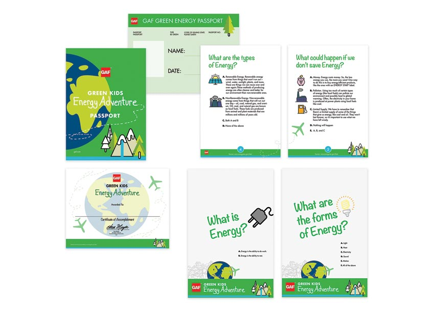 GAF/Creative Design Services Kids Energy Adventure