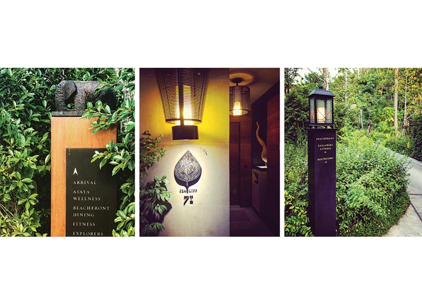 Rosewood Phuket Resort Identity and Signage by Regina Rubino/IMAGE: Global Vision