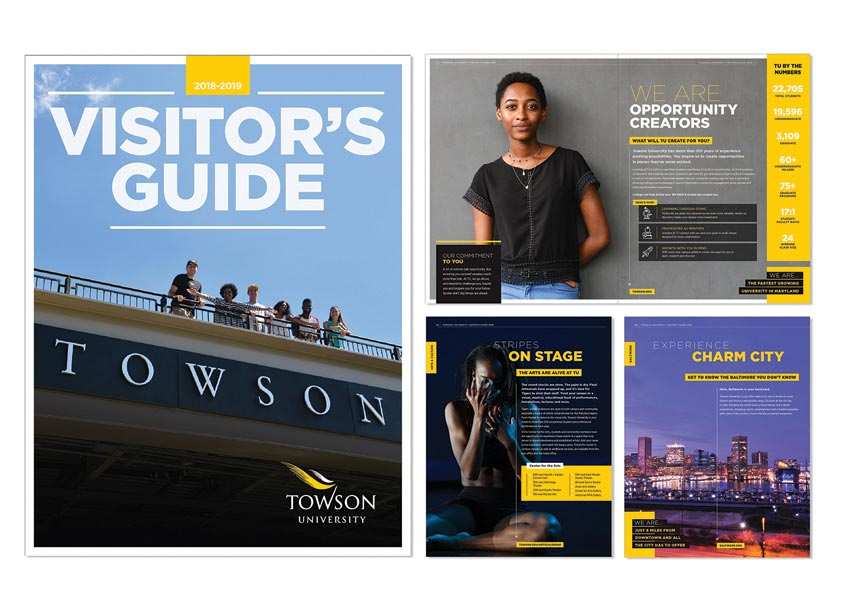 Towson University Creative Services Towson University 2018-2019 Visitor's Guide