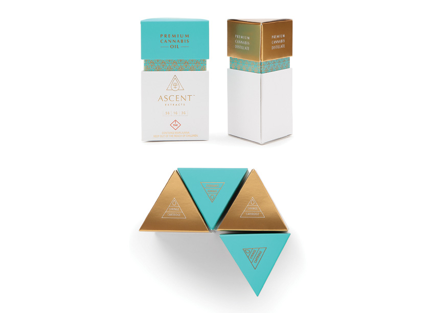 Ascent Extracts Packaging by Ellen Bruss Design