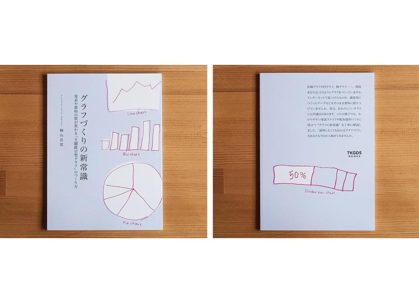 TKGDS (Takehiro Kiriyama Graphic Design Studio) Booklet: Presenting Numbers and Charts