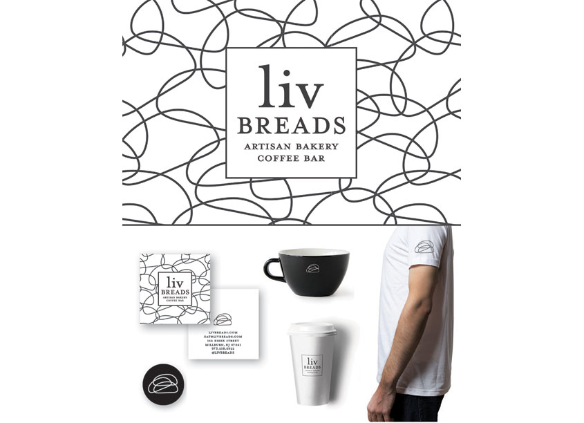 7 Layer Studio Liv Breads Visual Identity