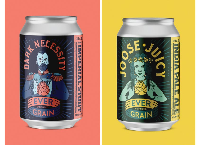 quench Ever Grain Packaging