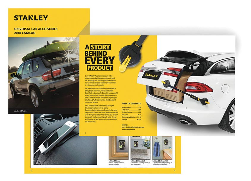 Stanley UCA Catalog by Randy Richards Design