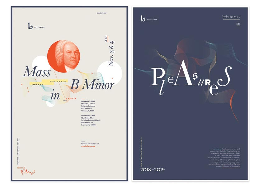Poster Designs for 36th Season by Raul Peña