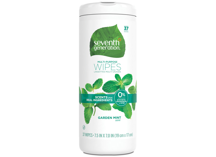 Seventh Generation Multi-Purpose Wipes Package Design