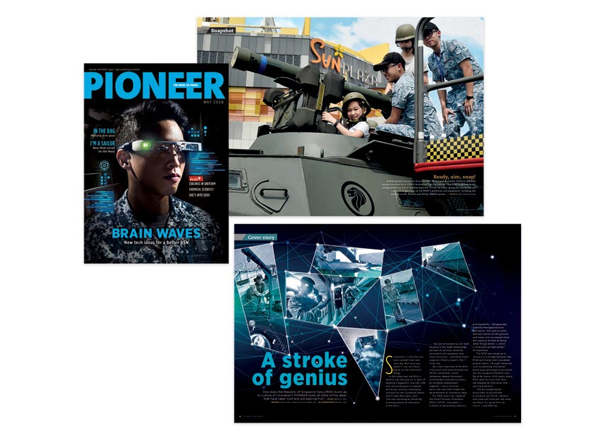 Brain Waves - PIONEER Magazine May 2018 by So Drama! Entertainment