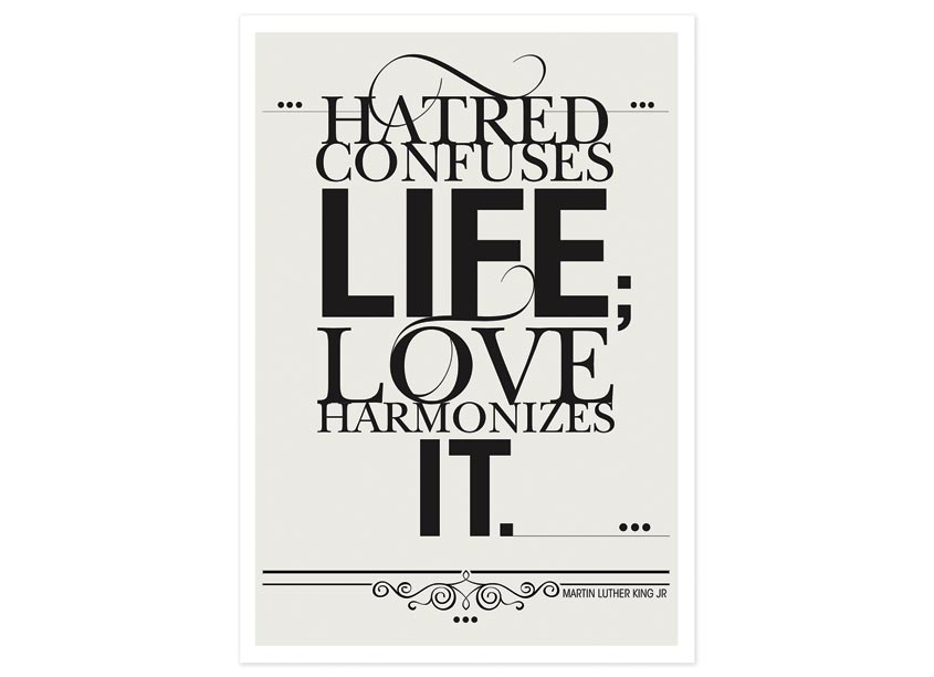 Love Harmonizes Life Poster by Symbiotic Solutions