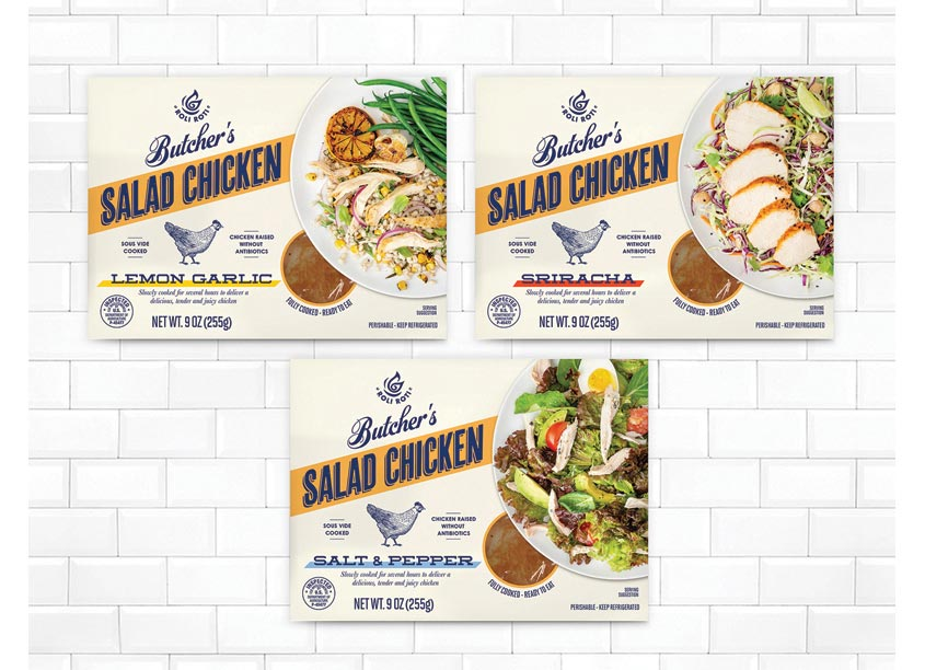 The Creative Pack, LLC Butchers Salad Chicken Range