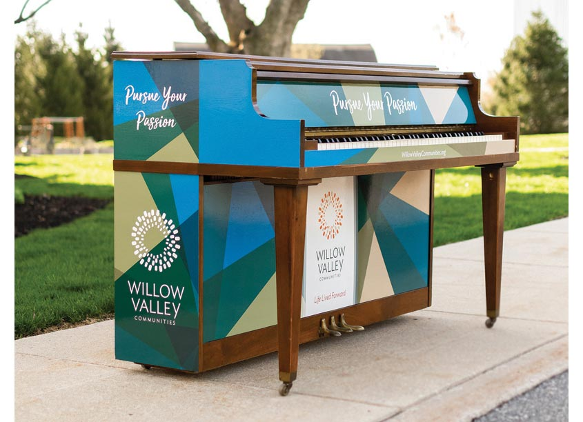 Keys for the City Piano 2018 by Willow Valley Communities