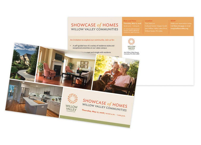 Showcase of Homes Invitation 2018 by Willow Valley Communities