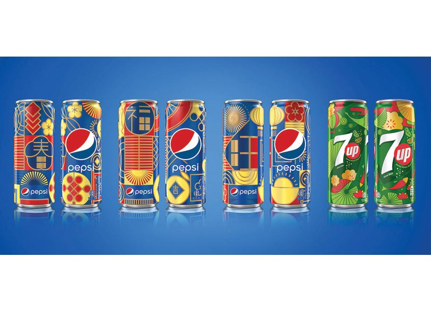 PepsiCo Design & Innovation Pepsi x 7UP Chinese New Year Limited Edition Can Malaysia