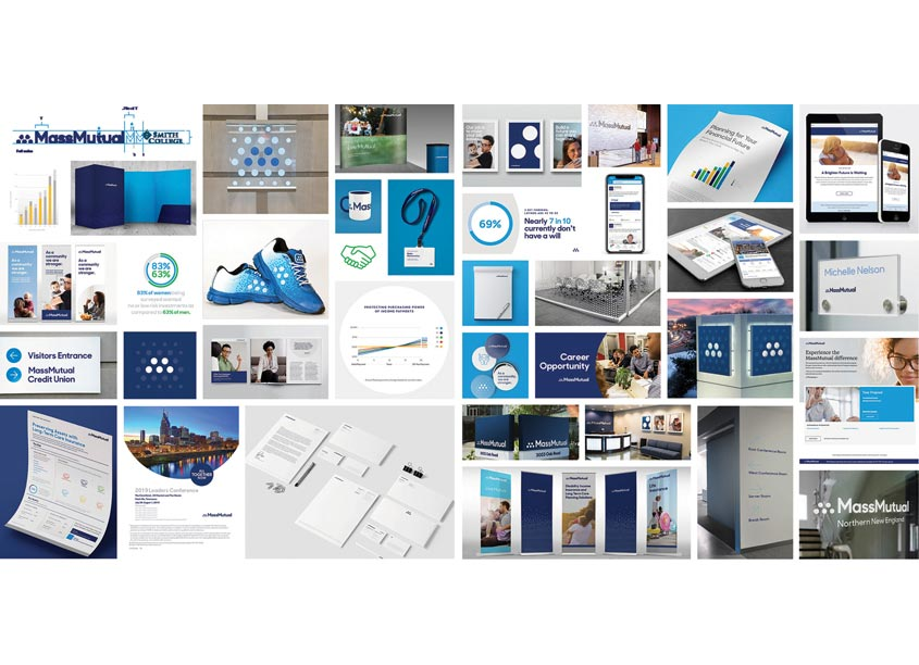 Mass Mutual, studio m MassMutual Branding and Identity