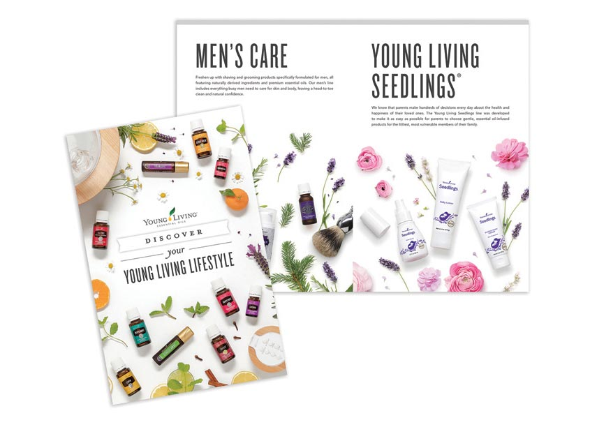 Young Living Essential Oils Creative Services Discover Your Lifestyle Booklet