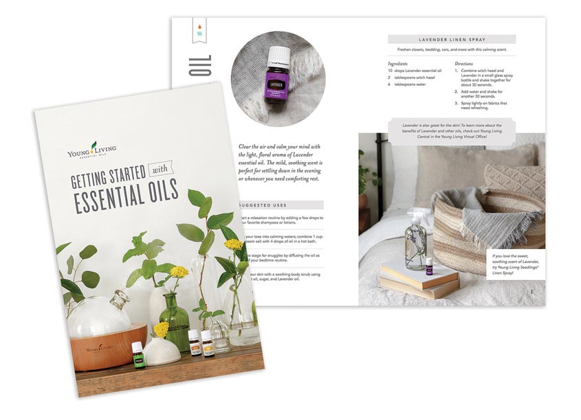 Young Living Premium Starter Kit and Mini Magazine by Young Living Essential Oils Creative Services