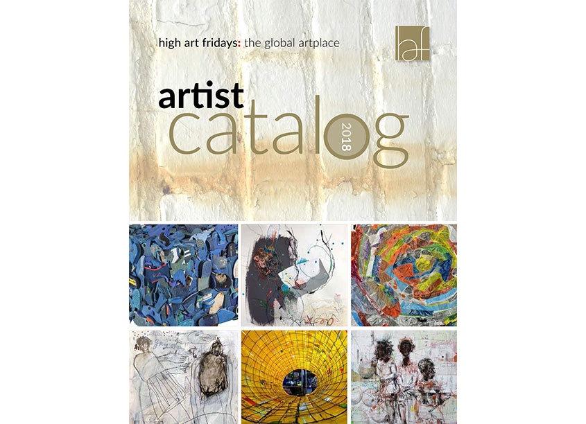 2018 Artist Catalog by High Art Fridays
