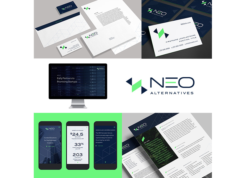 Leibowitz Branding & Design Neo Alternatives Identity