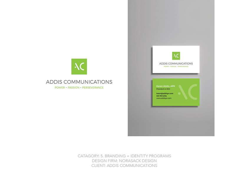 Addis Communications Branding by Norasack Design