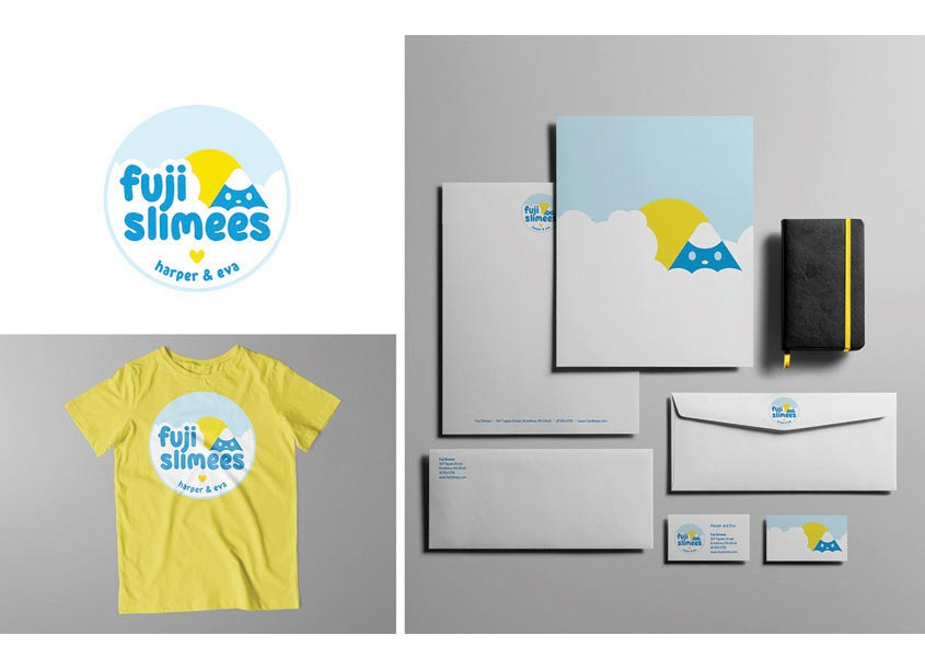 Fuji Slimees Logo and Branding by Angelique Markowski