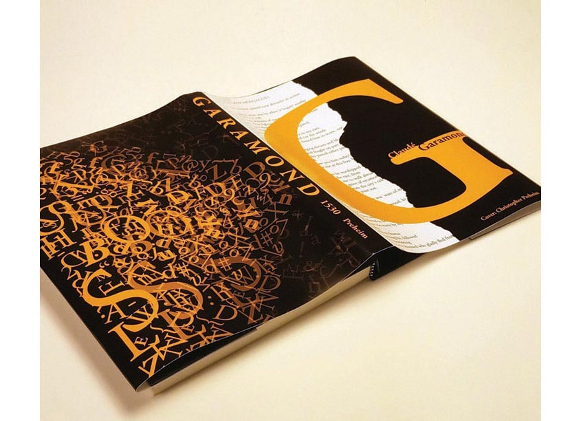 Garamond Book Cover Design by Kennesaw State University/School of Art and Design