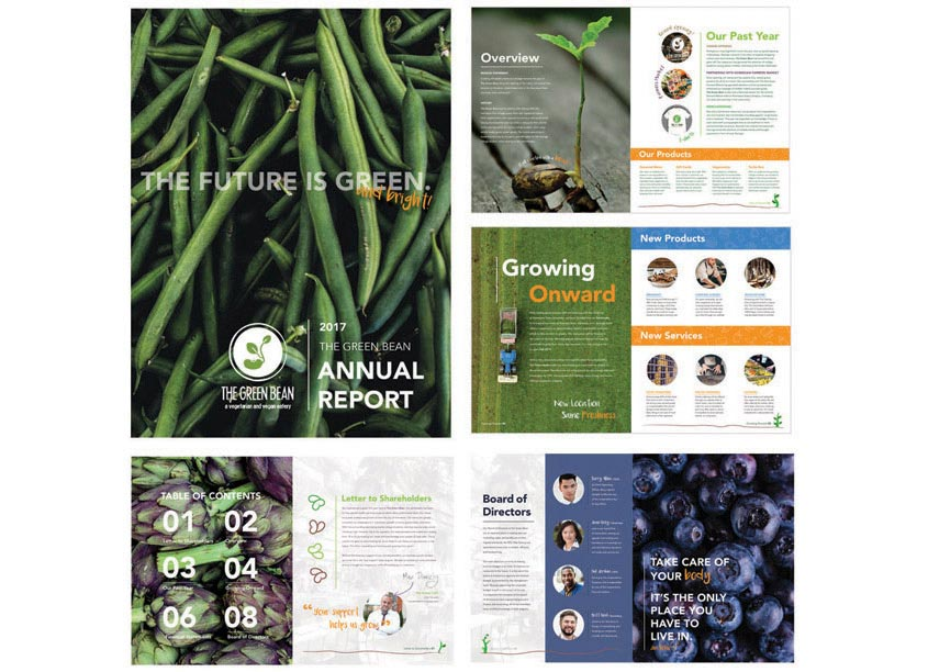 Green Bean Annual Report by Kennesaw State University/School of Art and Design
