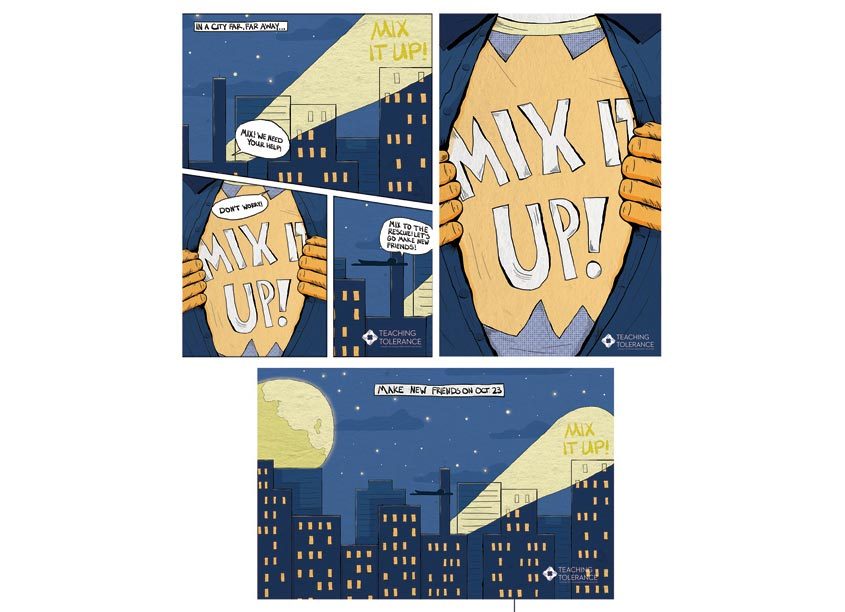 Southern Poverty Law Center Mix It Up 2018 Posters
