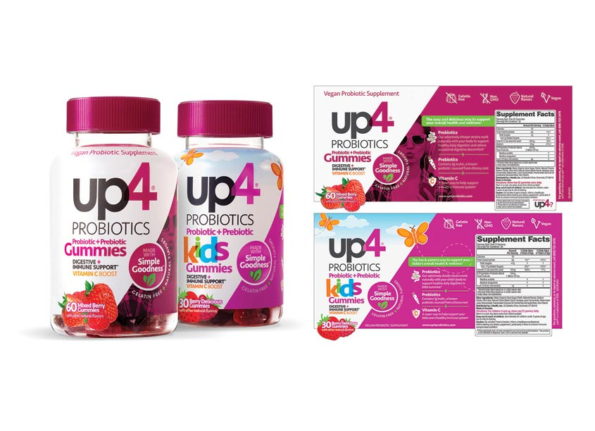 i-Health Inc. up4 Gummies Packaging