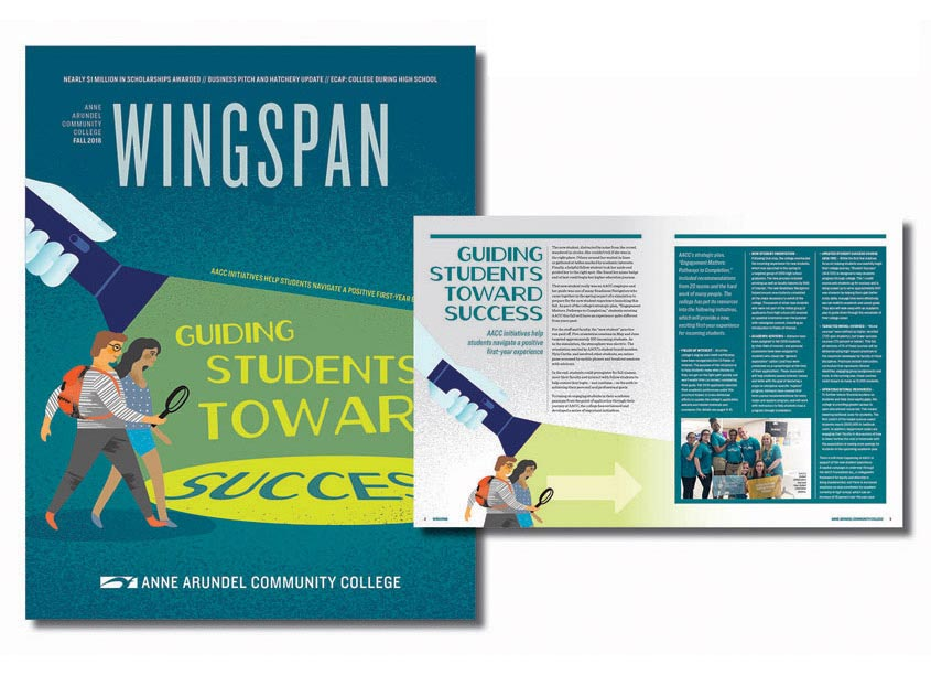 Wingspan Community Magazine by Anne Arundel Community College